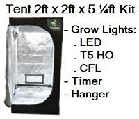 Grow Tent 2 ft x 2 ft x 5 1/4ft