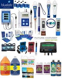 pH - EC - TDS Meters & Solutions
